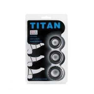 Vòng đeo dương vật titan cao cấp 3 kích cỡ